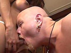 Ts goes nuts polishing guys knowb