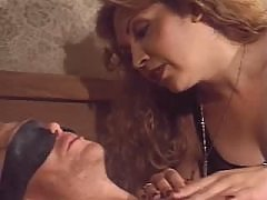 Naughty longhaired shemale pounded
