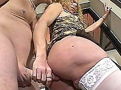 Tranny Fucking A Horny Man