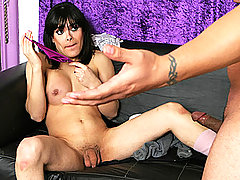 Dude Ass Fucks A Hot Tranny Streetwalker